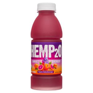 Hemp2O Sunset Sherbert Water Hemp Beverage 500ml