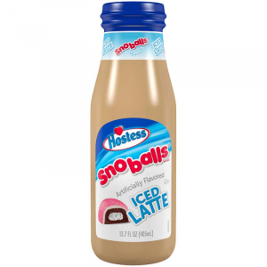 Hostess Coffee Pink SnoBalls Iced Latte 405ml