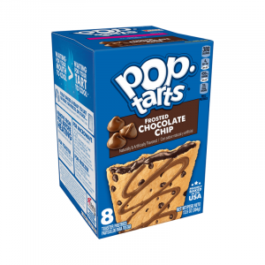 Kellogg's Pop Tarts Grocery Pack Frosted Chocolate Chip 8-Pack 416g
