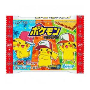 Lotte Pokemon Wafers Chocolate