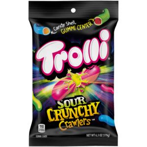 Trolli Sour Crunchy Crawlers 120g
