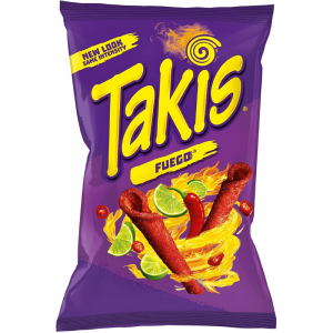 Takis Fuego Flavored Tortilla Chips 280g