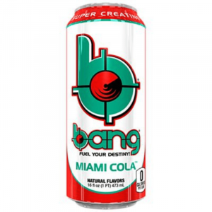 Bang Miami Cola Energy Drink with Super Creatine 473ml