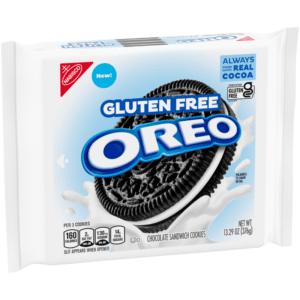 Oreo Gluten Free Chocolate Sandwich Cookies 376g