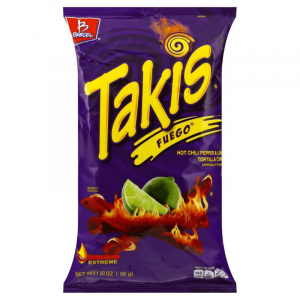 Takis Fuego Flavored Tortilla Chips 57g