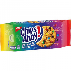 Chips Ahoy! Rainbow Chocolate Chip Cookies 258g (Canada)