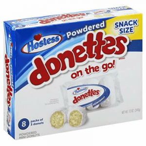Hostess Snack Size Powdered Donettes on the go! 340g (Pack of 8)