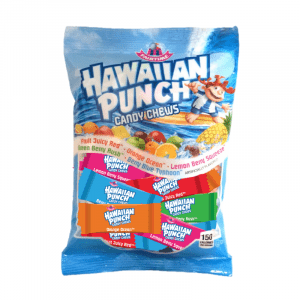 Hawaiian Punch Fruit Chews Peg Bag 198g