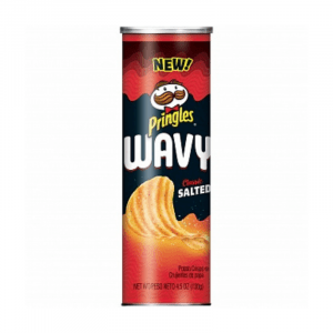 Pringles Wavy Classic Salted 130g