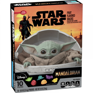 Americano Goodies Star Wars Fruit Flavoured Snacks, 10 Pouches 226g
